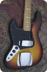 Fender Jazz Bass Lefty Left 1977 Sunburst