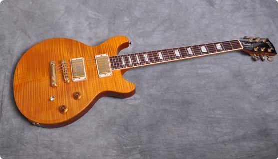 Gibson Les Paul Standard Double Cut 1998 Amber