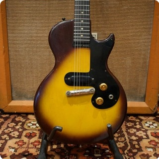 Gibson Vintage 1960 1961 Gibson Usa Melody Maker Tobacco Sunburst Guitar