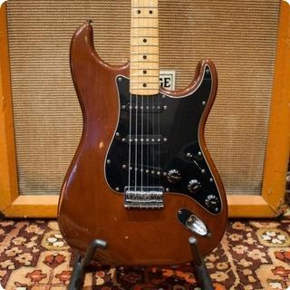 Fender Vintage 1978 Fender Usa Mocha Brown Maple Stratocaster Guitar