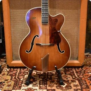 Hofner Vintage 1960 Hofner President Brunette Hollow Guitar Inc Hard Case