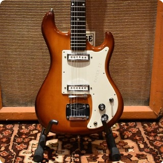 Hofner Vintage 1960s Wilson Watkins Rapier 22 Sunburst Electric Guitar