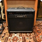 Hiwatt Vintage 1983 Hiwatt Custom 50w SA112 Combo Valve Amplifier