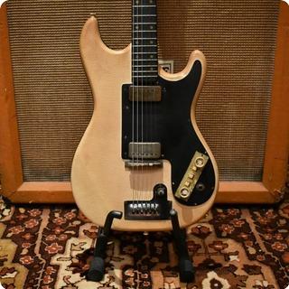 Vox Vintage 1962 Hofner Model 172 White Snakeskin Solid Electric Guitar