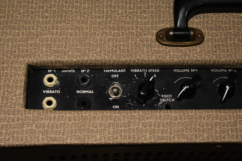 Vox Vintage 1959 Vox AC15 1st Circuit Fawn Valve Amplifier 1950's