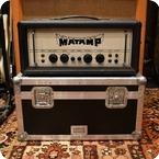 Matamp Vintage 1970s Matamp GT100 100w Orange Valve Amp Flightcase