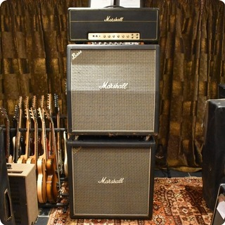 Marshall Vintage 1971 Marshall Jmp Super Bass Full Stack Valve Amplifier