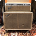 Fender Vintage 1964 Fender Bandmaster Blackface AB763 2x10 Guitar Amp