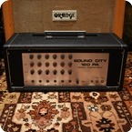 Sound City Vintage 1970s Sound City 120 PA Valve Amplifier Original Cover
