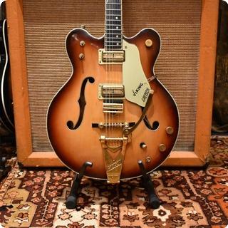 Gretsch Vintage 1966 Gretsch Viking G6187 Two Tone Sunburst Guitar Ohsc