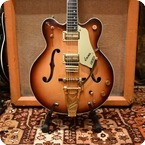 Gretsch Vintage 1966 Gretsch Viking G6187 Two Tone Sunburst Guitar OHSC