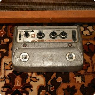 Boss Vintage 1970s Boss Ce1 Chorus Ensemble Stereo Guitar Effects Pedal