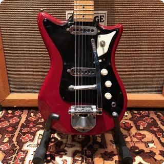 Burns Vintage 1960s Burns London Sonic Model Maple Electric Guitar Case