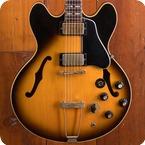 Gibson ES 345 1977 Vintage Sunburst