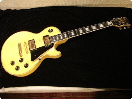 Gibson Les Paul Custom  1974 Alpine White (faded Cream)