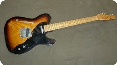 Fender-Custom Shop Relic Thinline Telecaster-2009-Sunburst