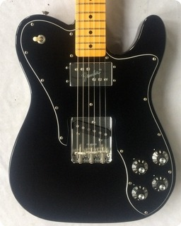 Fender Av '72 Telecaster Custom 2007 Black/maple