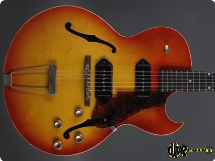 Gibson Es 125 Tdc 1962 Cherry Sunburst