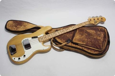 Greco Precision Bass Pb 580 1976 Natural