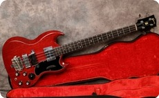 Gibson EB3 1965 Cherry Red