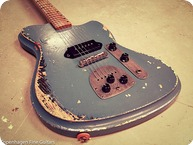 Vuorensaku Guitars T Junior Supacruiser Aged Gulf Blue