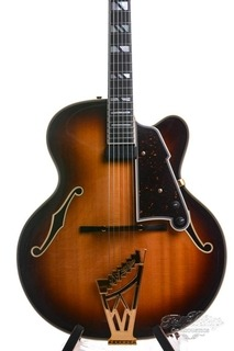 D'angelico Michael Lewis Excel Deluxe Sunburst Usa Near Mint 1997