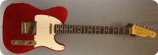 Real Guitars Standard Build T 2018 Candy Apple Red