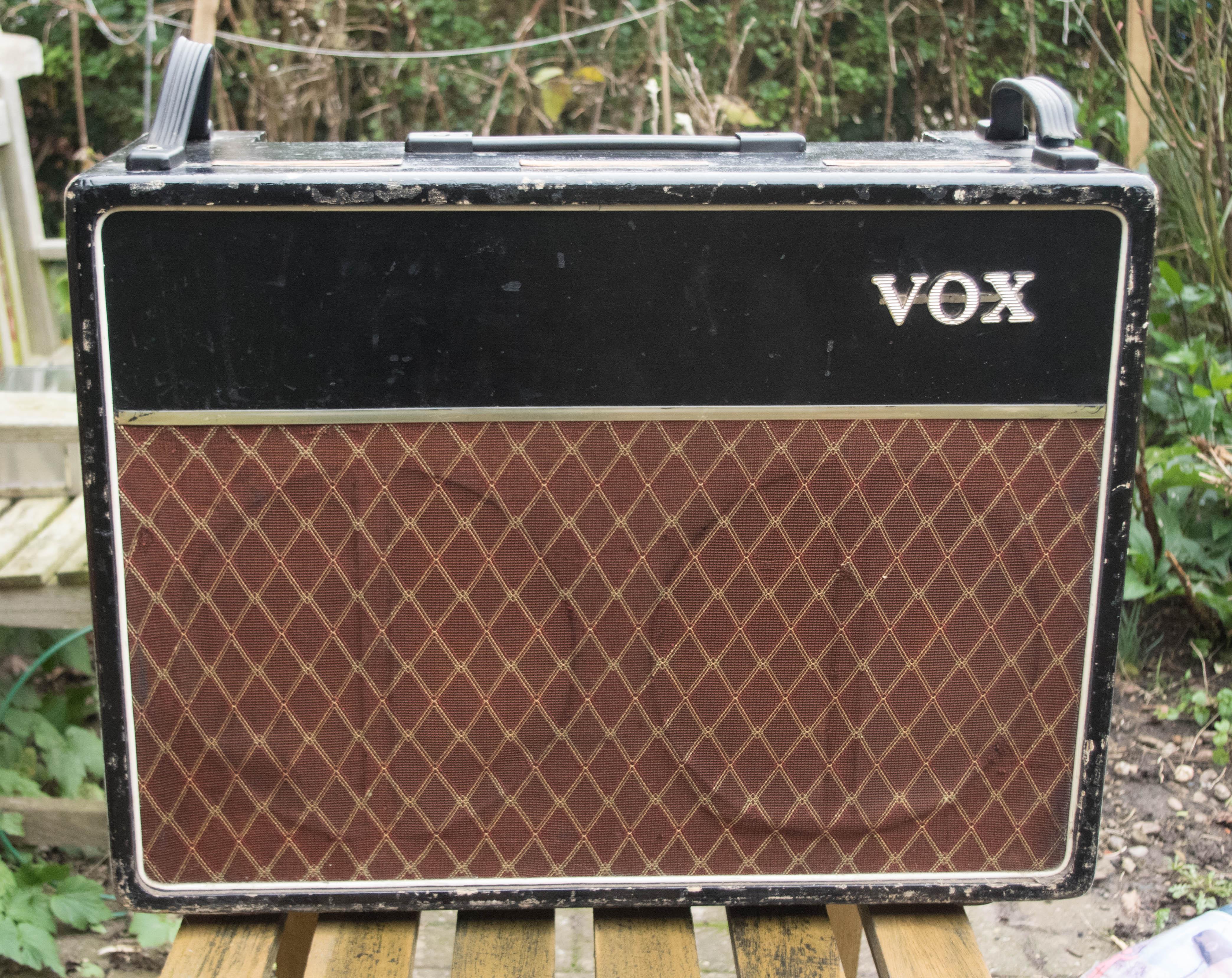Vox AC30 1962 Black Amp For Sale A J Lucas Luthier