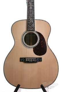 Martin Om42 Custom Shop Tree Of Life Honduras Italian Spruce