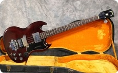 Gibson EB3 1967 Cherry Red