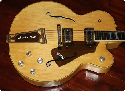 Gretsch Country Club  (gre0434) 1976 Natural Finish
