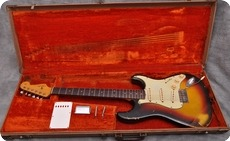 Fender Stratocaster Sunburst 1963 Sunburst