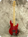 Musicman Stingray Bass 1981 Red