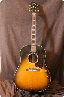 Gibson J160e 1956 Sunburst