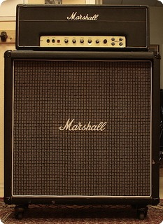 Marshall Jmp 50 1967 Black Tolex