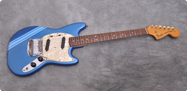 Fender Mustang Competition Lake Placid Blue 1972 Lake Placid Blue