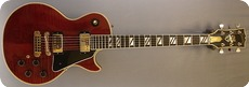 Gibson Les Paul Custom 2550 Anniversary 1979 Translucent Red