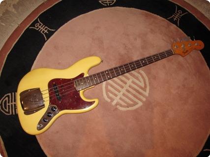 Fender Jazz Bass 1965 Olympic White