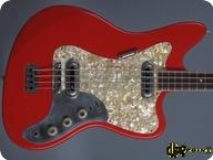 Framus Strato De Luxe Star Bass 5165 52 1964 Red