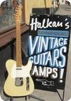 Fender Telecaster Refinished 1958 Blonde
