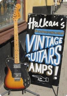 Fender Telecaster Deluxe 1973 Sunburst
