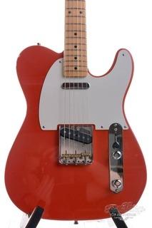 Fender Custom Shop Masterbuilt Stephen Stern 60's Telecaster Nos Fiesta Red 2008
