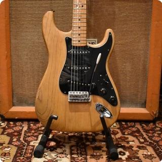 Fender Vintage 1977 Fender Stratocaster Refin Natural Maple Electric Guitar