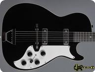 Silvertone Stratotone Model 1420 1962 Black