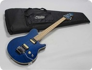 MusicMan Sterling Axis AX 40 2016 Translucent Blue
