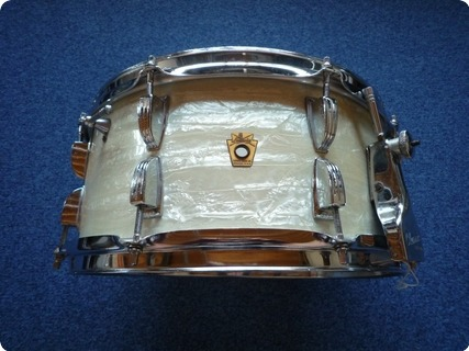 Ludwig New Classic Ray Mckinley 1960 White Marine Pearl