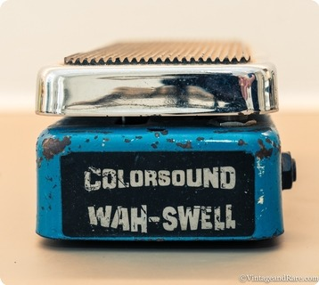 Colorsound Wah Swell