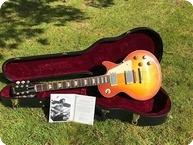 Gibson-Custom Shop Eric Clapton Beano 1960 Les Paul Standard-2010-Faded Cherry Sunburst