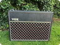 Vox AC30 Top Boost Ex Steve Howe YES Asia 1980 Black