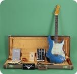 Fender 1962 Stratocaster Relic 2015 Blue Sparkle